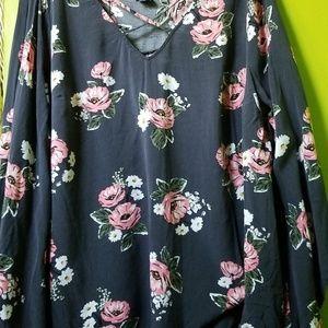 Torrid Flower Shirt!